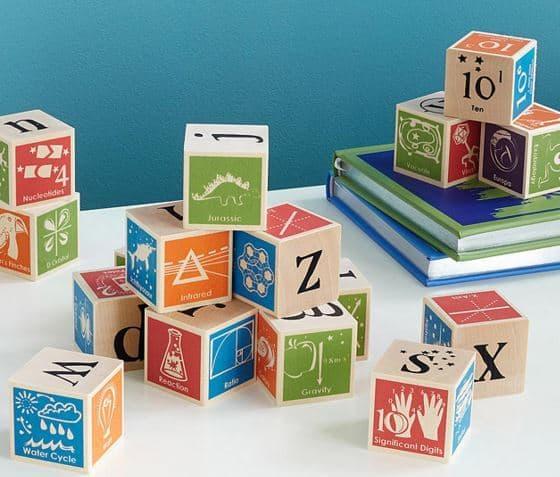 Super Nerdy ABC Blocks