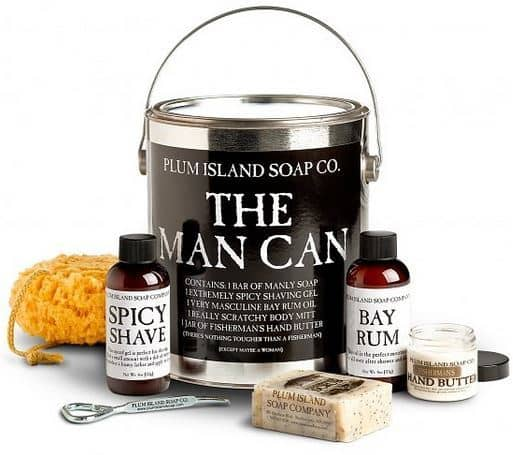 The Man Can 100% Natural Skin Care Set For Men