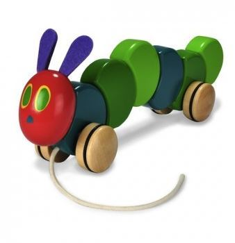 The Very Hungry Caterpillar Pull Toy