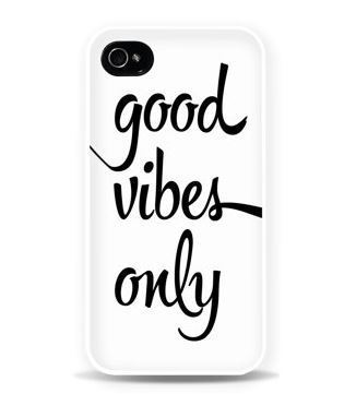 Good Vibes Only Phone Case from AfterImages
