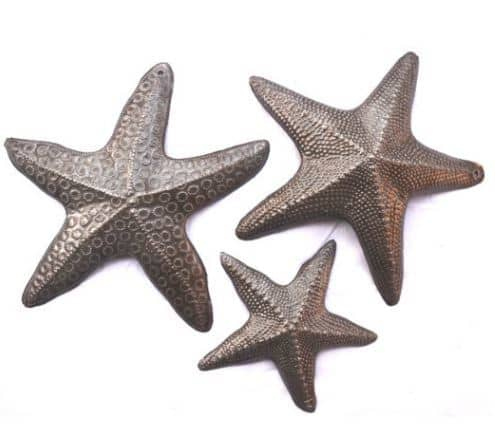 Recycled Starfish Wall Art